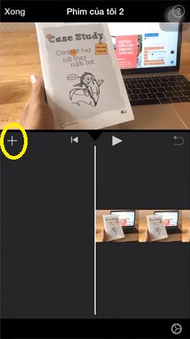 Bạn lưu ý ở một chỗ là khi chèn hình ảnh và clip có sẵn vào trình dự án thì  mặc định hình ảnh sẽ không có nhạc.