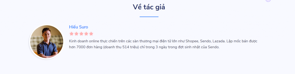 khóa học kinh doanh online tại các sàn tmdt nhu shopee lazada tiki cua Hiếu Suro