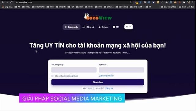 Dịch vụ Social Media Marketing của ZozoView